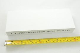 Pedra amolar faca Carborundum - Lançamento Brasil